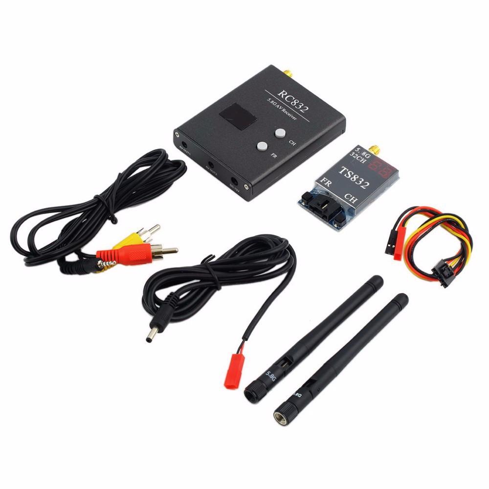 FPV Goggles System 52inch Portable Wide Screen 800TVL Camera 5.8Ghz 600mw Transmitter Receiver For QAV250 Walkera DJI Phantom 3