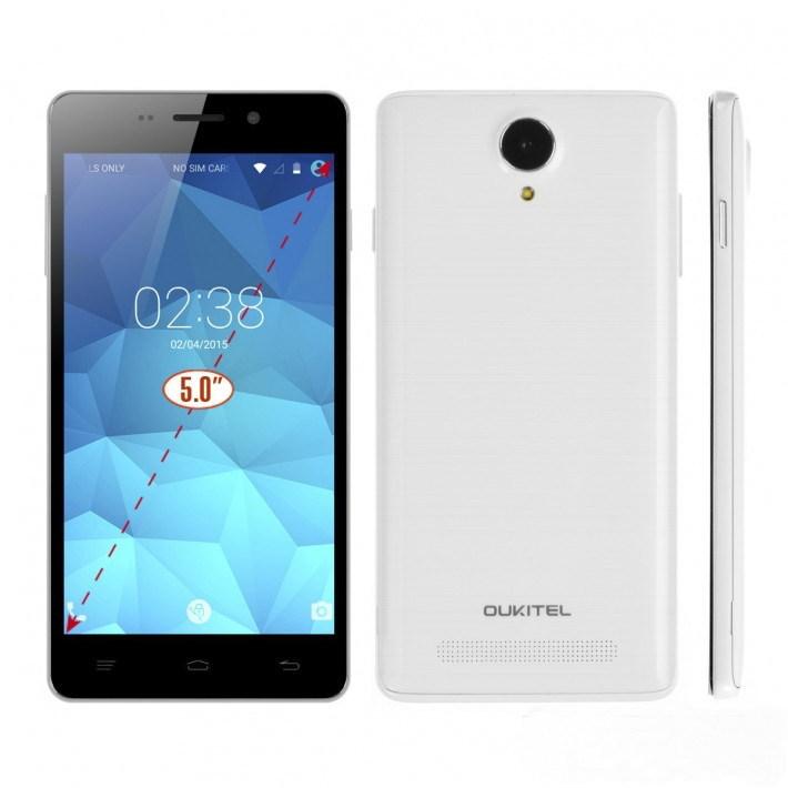 OUKITEL ORIGINAL ONE O901 Android4 4 KitKat Unlocked Phone MTK6582 Quad Core 512MBRAM 4GB ROM 3G