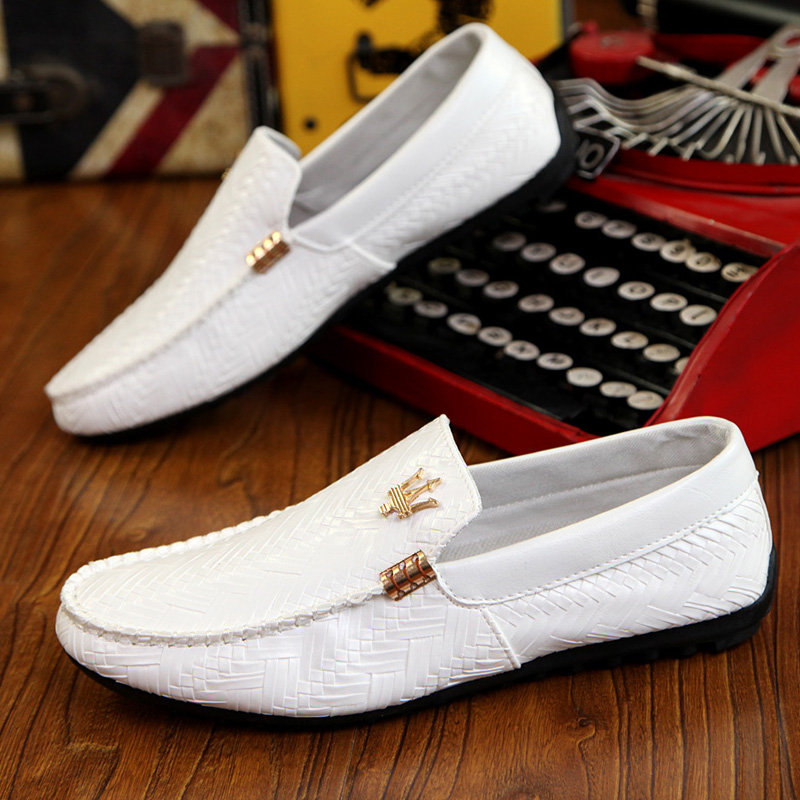 2016 New Hot Spring and Autumn Doug shoes men Maserati shoes leisure trend driving shoe leather British air slip-on