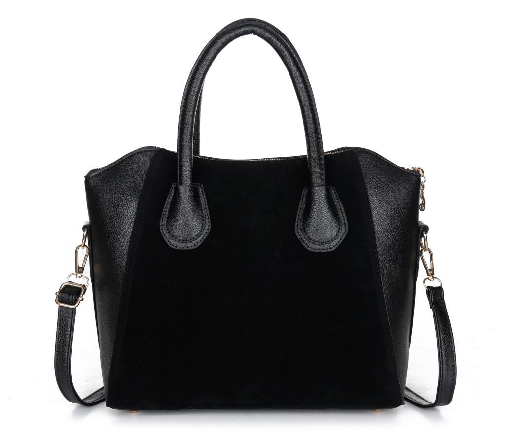 2014 fashion black women bag women handbag women messenger bags(China (Mainland))