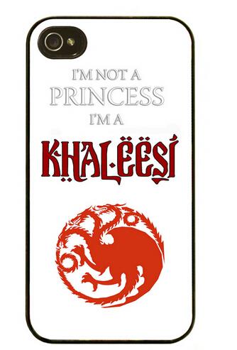 Khaleesi of the Dothraki Hard Case for iPhone 4 4s 5 5s 5c