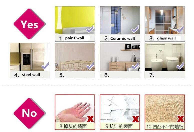 60pcs set Little Lightning Bolt Wall Sticker,Removable home decoration Wall Decals