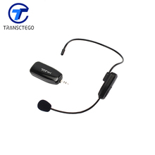 2.4G wireless microphone for teaching guides conference, head microphone audio for computer(China (Mainland))