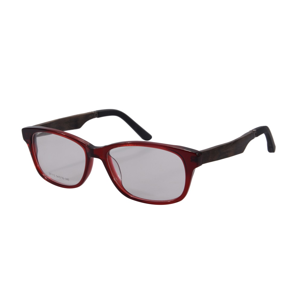 Glasses Frame New : New Fashion Acetate Frame Wooden Legs Eyeglasses ...