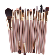 Best Deal New Good Quality Professional 15 pcs/Sets Eye Shadow Foundation Eyebrow Lip Brush Makeup Brushes Comestic Tool 1 Set - Voberry Technology Co.,Ltd store