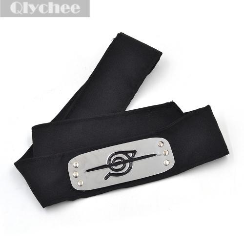 Hot Anime Naruto Itachi Uchiha Defected Ninja Black Cosplay Ninja Headband Accessories(China (Mainland))