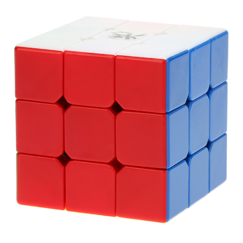 Dayan Zhanchi 3*3*3 57mm Magic Cubes Speed Cubo Anti-POP Structure 6 Color Solid Stickerless Cube Puzzle Education Toy(China (Mainland))