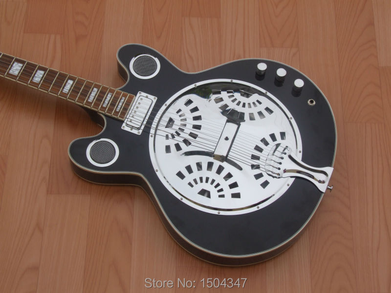 High quality hand made Double electric guitar, Free shipping,Gretsch Style.Factory direct sale(China (Mainland))