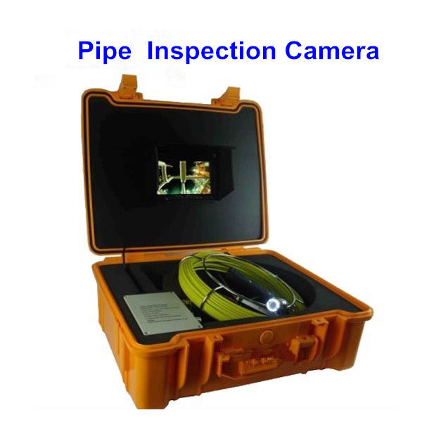 7 inch 20m Cable Pipe Wall Sewer Inspection Endoscope Camera System(China (Mainland))