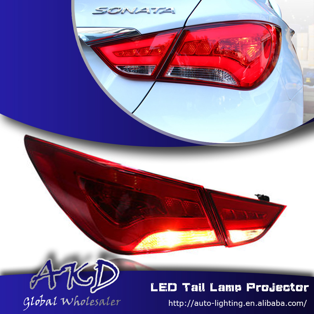 One Stop Shopping Styling For Hyundai Sonata Tail Lights 2011 2014 Sonata Led Tail Light Glk Led