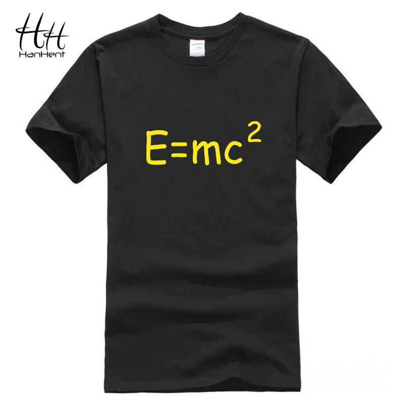 Einstein Mass Energy Equation T-shirt Men Novelty Cotton 2016 Summer New T shirt The Big Bang Theory TShirt Unisex Couple Tees(China (Mainland))