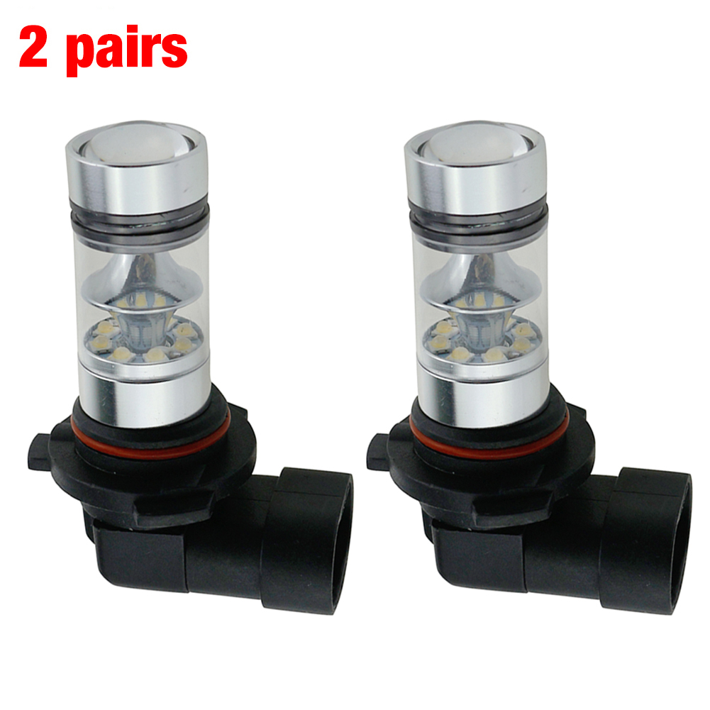 Car-styling 4pcs=2pairs Xenon HID White HB3 LED Dome Map Light Bulb Car Interior Panel Lamp 12-24V Free Shipping&Wholesale(China (Mainland))