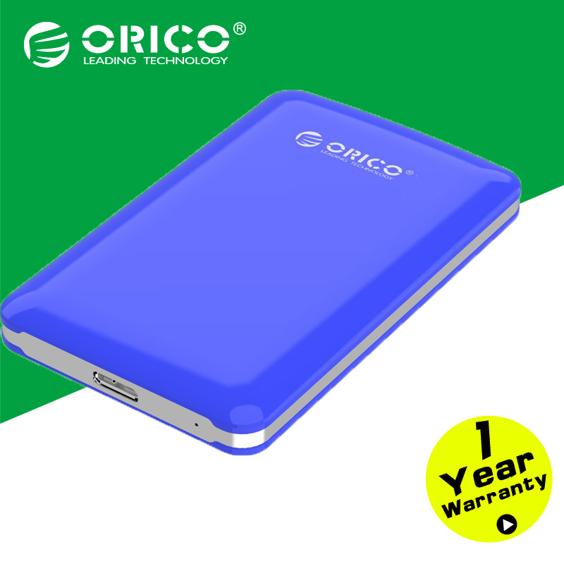 """ORICO 2579S3 Support UASP SATA3.0 to USB 3.0 Hard Drive Disk HDD External Enclosure Case for 2.5""""SATA HDD,SSD,Tool free-Blue(China (Mainland))"""