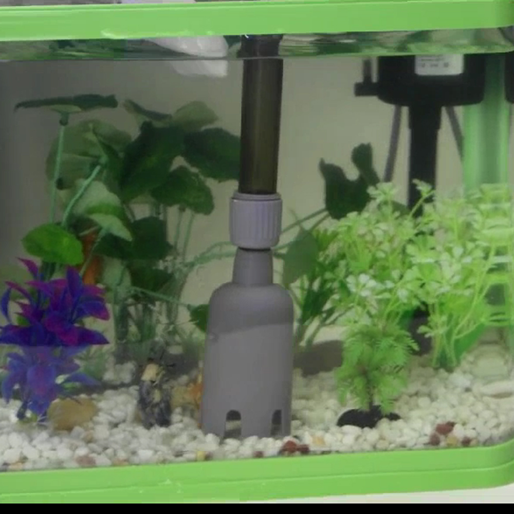 Fish tank maintenance service gravel without vacuum 2017 for Fish tank cleaning service