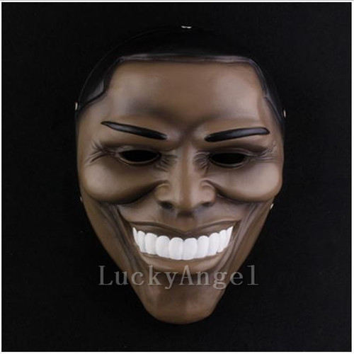 Payday 2 Masks Dallas America Cosplay Masque Halloween Party Carnival Masks Resin Funny Scary Clown Masks Home Decor Collections