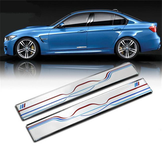 Car Styling M Logo Emblem Car Door Decal Trim Car Body