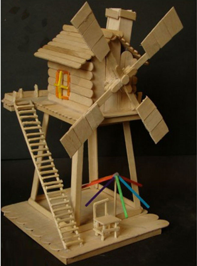 Popular decorative popsicle sticks buy cheap decorative for How to build a treehouse with sticks