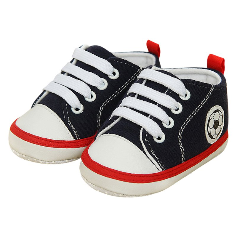 Infant Toddler Sneakers Baby Boys Girls Soft Sole Crib Cotton Canvas Shoes 0-18M(China (Mainland))