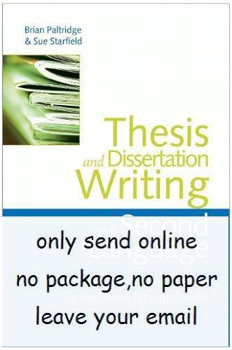Online Dissertation And Thesis Reference