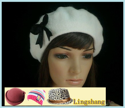 New Apparel Super Awesome Wool Fashion Beret Hat(China (Mainland))