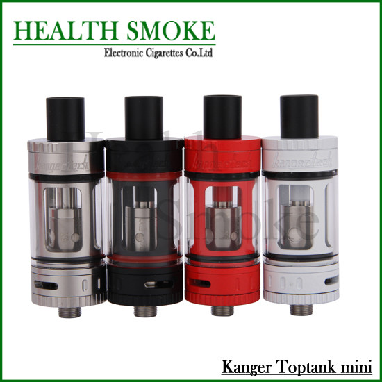 Authentic Kanger Toptank Mini Atomizer 4.0ml Top Refilling Sub Ohm Tank with Delrin Drip Tip BLack SS Red White Kanger Subtank<br><br>Aliexpress
