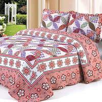 2015  good quality 100-2 colorful prewash bedcover bedding set