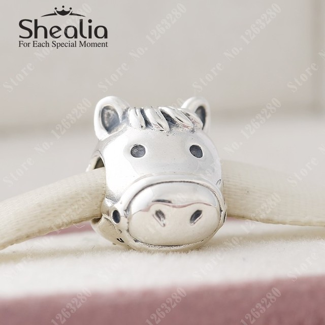 2015 осенью новый лошадь подвески античная животных шарм оригинал 925 ювелирных украшений подходящие марки DIY браслеты