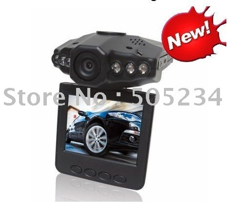 "Car Camera,120 Degrees Wide Angle Digital Car Video Recorder w/ IR Night Vision/Motion Detection/2.5"" LCD 270 Degrees Rotation"