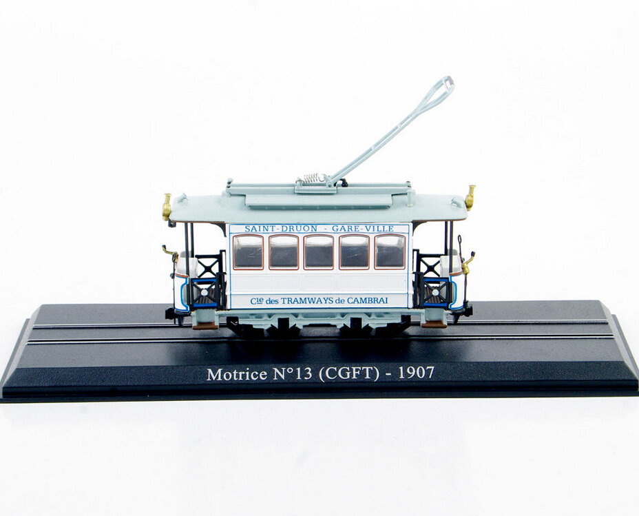 1/87 Motrice N 13 (CGFT)-1907 Atlas Tram Diecast Car Model 1:87 Scale Model Truck Bus Toy Vehicles Collections Gift(China (Mainland))