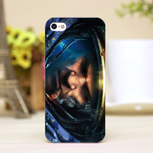 pzoo21-11 spaceman Design Customized cellphone transparent cover cases for iphone 4 5 5c 5s 6 6plus Hard Shell