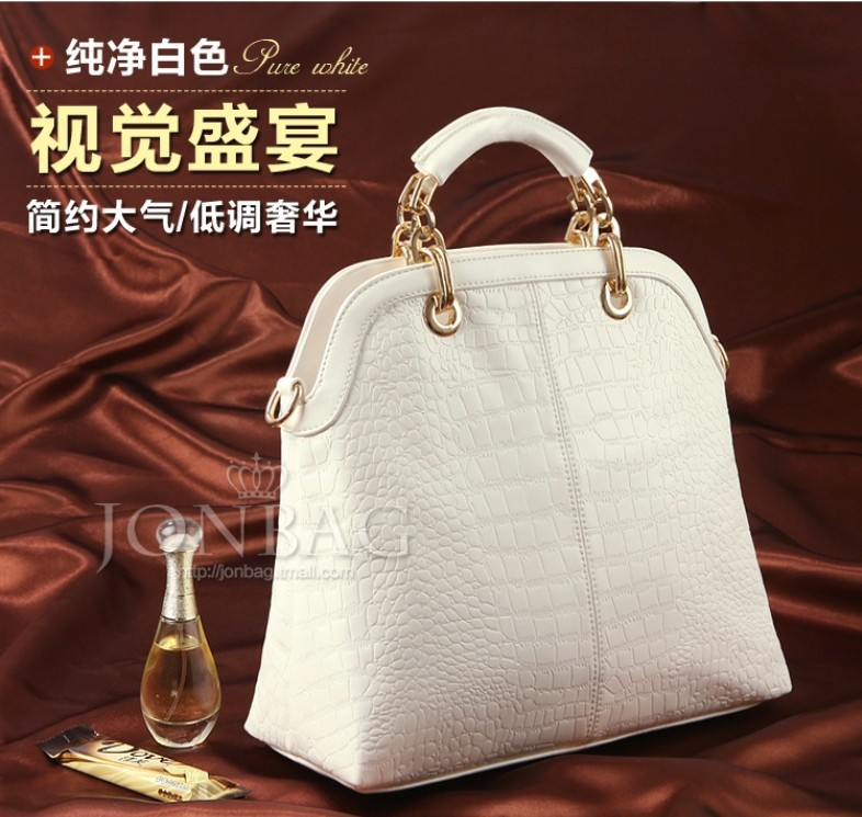 handbags POLO 2014 high-end fashion bags temperament elegant crocodile 895 factory outlets(China (Mainland))