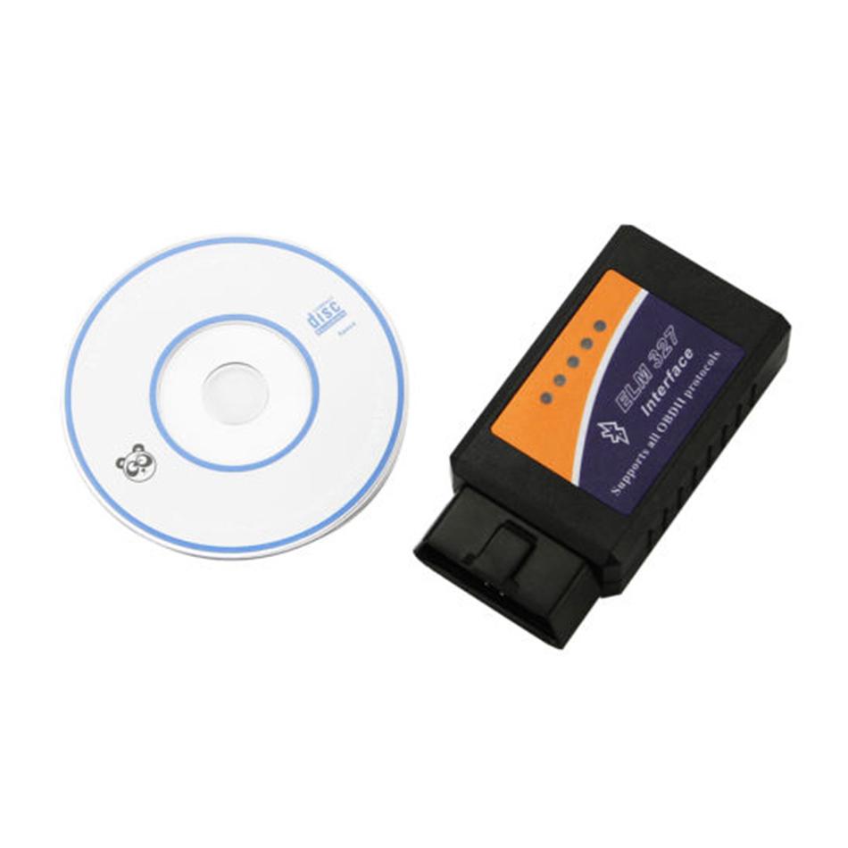 Elm327 Bluetooth ELM 327 V1.5 V 1.5 OBD2 OBDII Adaptor Scanner for Android Torque Code Reader Diagnostic Tool elm327
