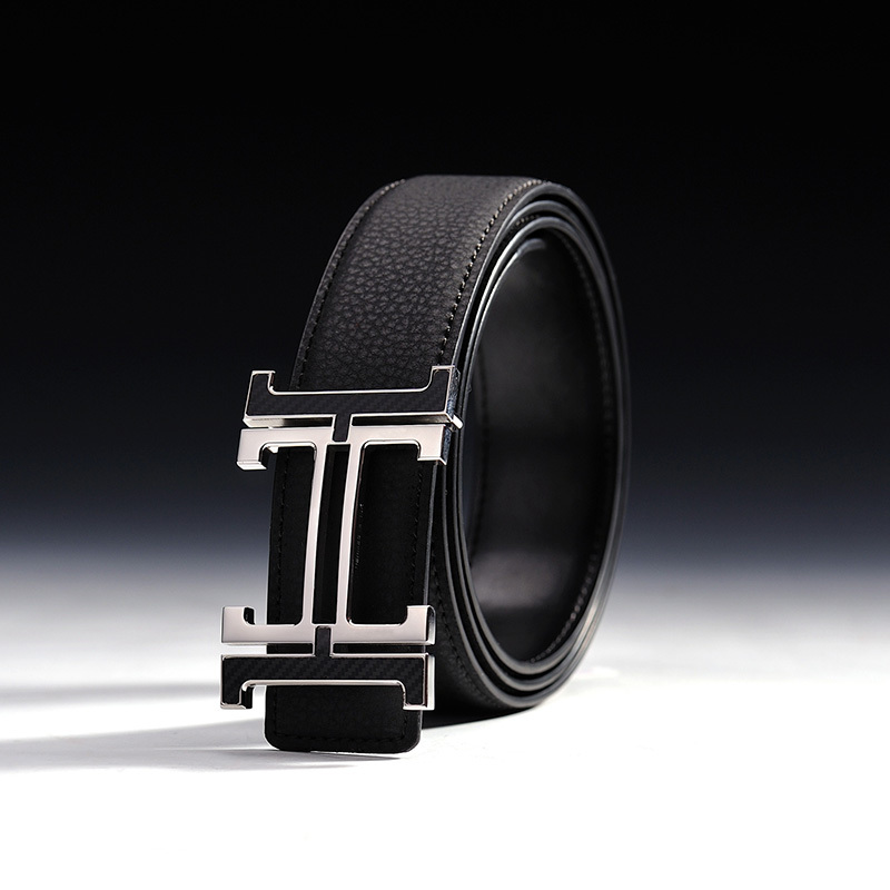 Free Shipping H Letter Men's New Waist Strap Belts Fashion Waistband Genuine Leather Business Mens Belts Luxury Ceinture #1471(China (Mainland))