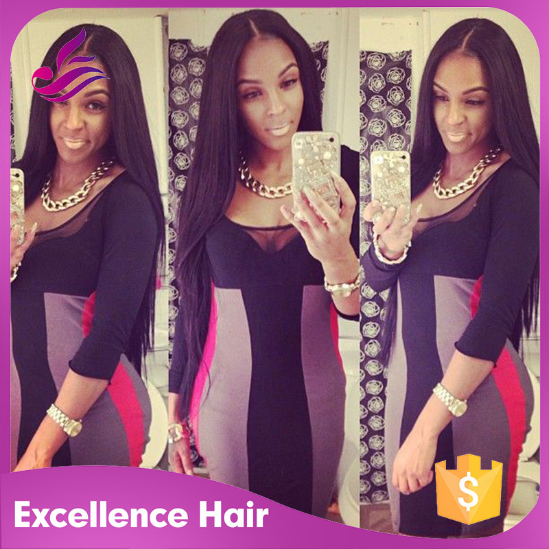 Фотография Hot sale silky straight u part wig malaysian virgin hair middle part u part wigs human hair with straps&combs for black women