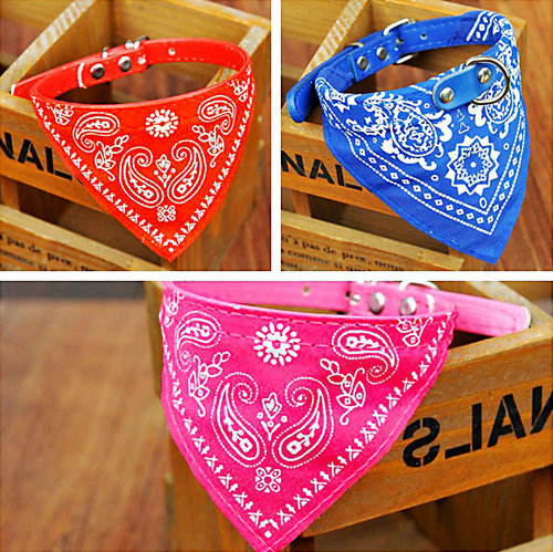 2003# Pet Products Dog Supplies Pet Collar Dog Collar Cat Triangle Bandana Scarf Collar Neckerchief  Adjustable Fashion Hot Sale(China (Mainland))