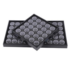 Nail Art Decorations Storage Plate Tool Case Nail Glittering Rhinestones Dust Powder Flowers Collection Box Jewelry Container(China (Mainland))