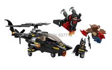 New Batman with vehicle building blocks SY313 brick figures toy(China (Mainland))