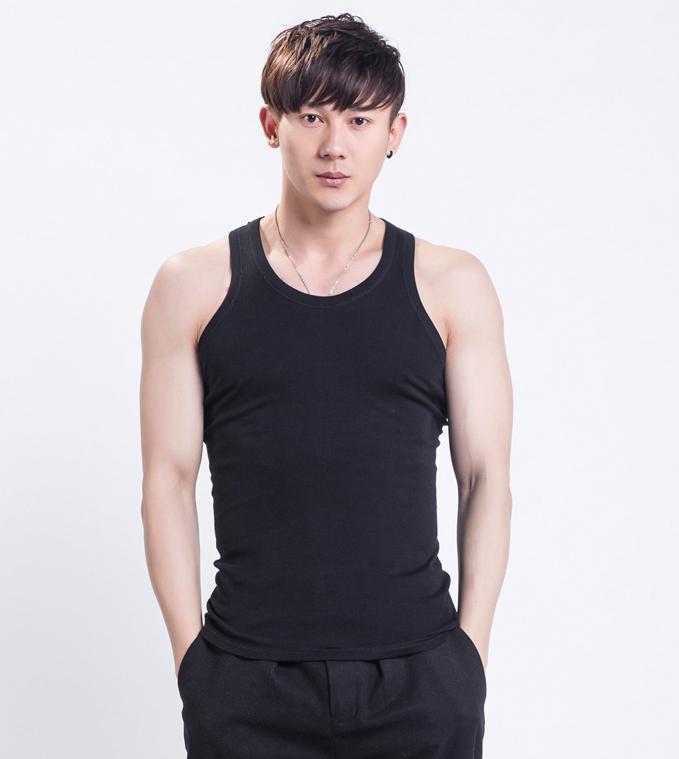 2015 casual 100% cotton tank tops men shirts colete masculino 3XL plus size  -  DT boutique store