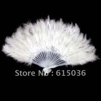 Wholesale price 10pcs/lot mixed costume colorful feather fan dance performer Halloween party supplies free shipping