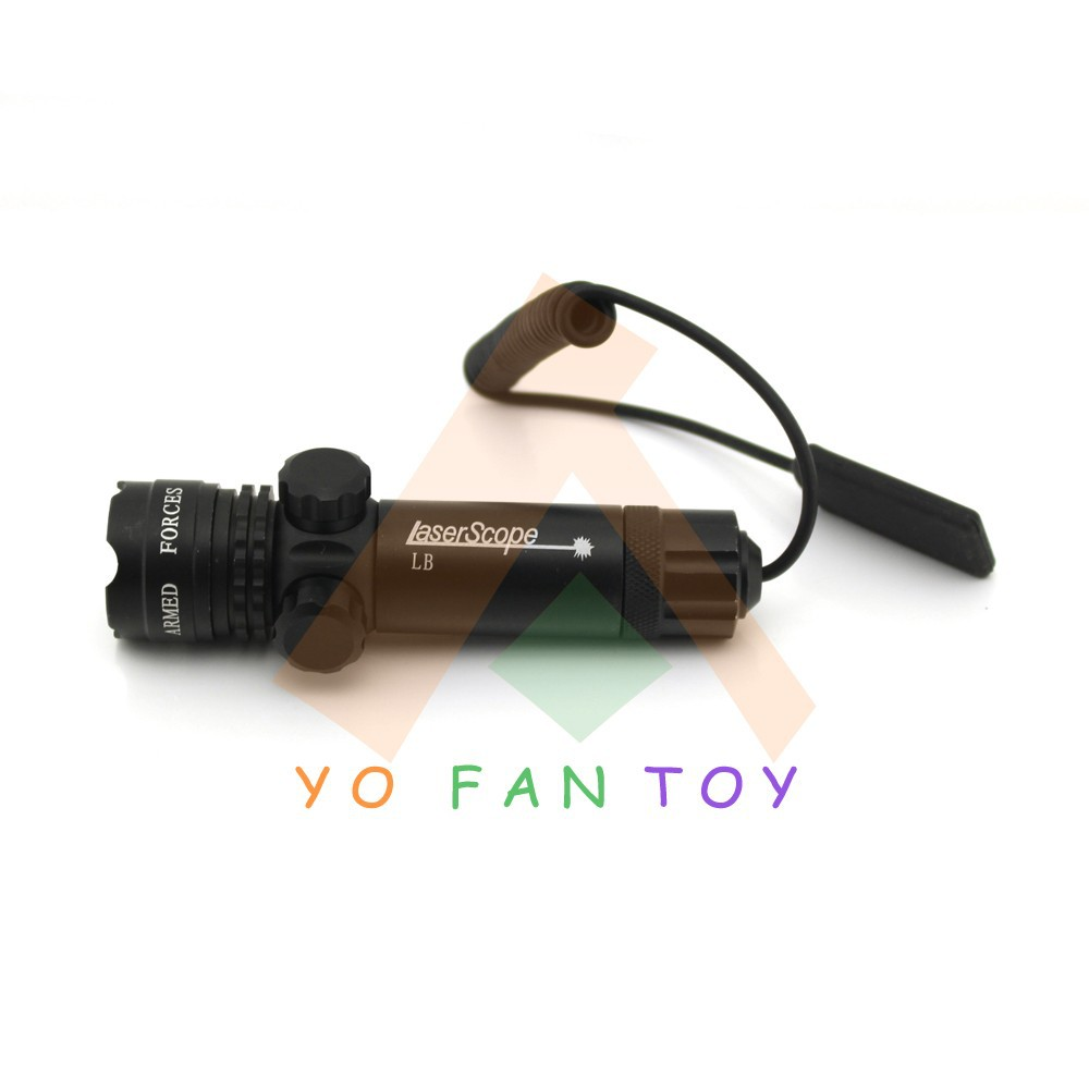 Лазер для охоты Yofantoy 532nm 5mW Sighter #YH102R