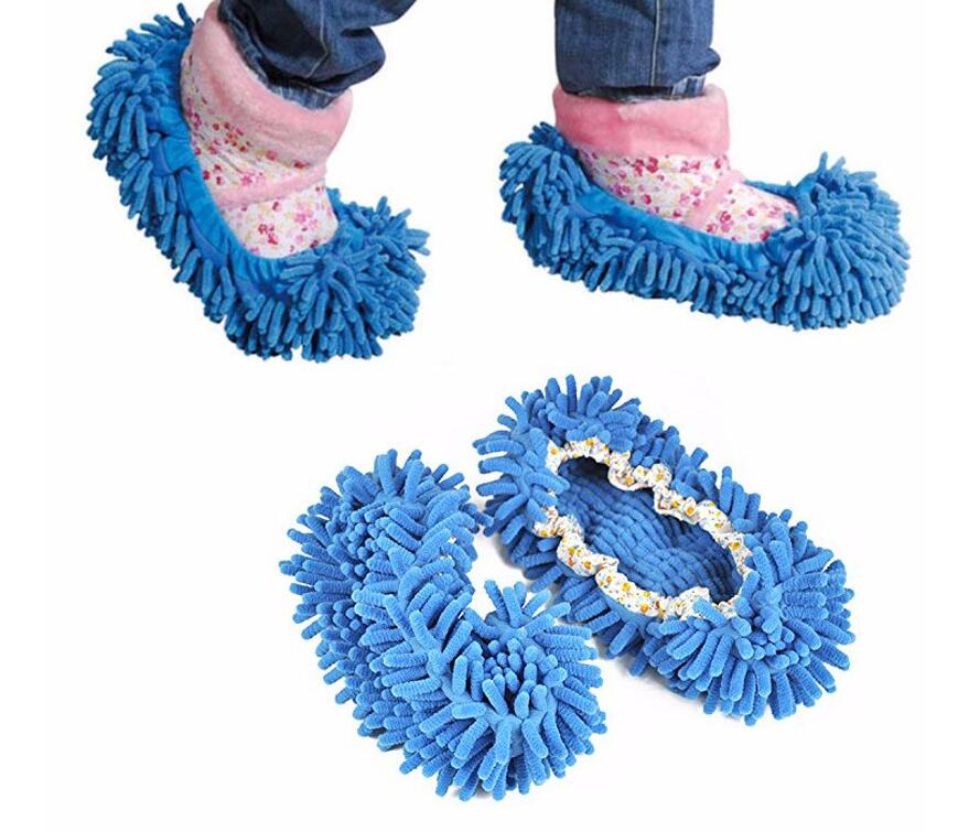 1 Piece Dust Floor Cleaning Mop Slipper Shoes Cover Cleaner Kitchen House Lazy Drag Multifunction(China (Mainland))