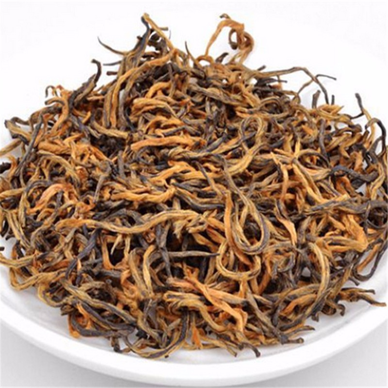 2016 new high-quality Kim Chun Mei 250g jin jun mei black tea green health food natural lose weight skin care organic black tea cheap