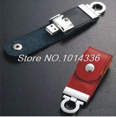 Cortex swivel leather key USB Flash Drive Memory Card Stick Thumb/Car key/Pendrive U Disk/creative Gift2GB 4GB 8GB 16GB 32GB(China (Mainland))