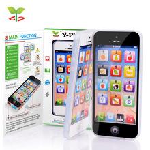 Yphone educativo aprender juguetes para bebés niños y-teléfono inglés aprendizaje automático + USB Cable blanco Local en ee.uu.(China (Mainland))