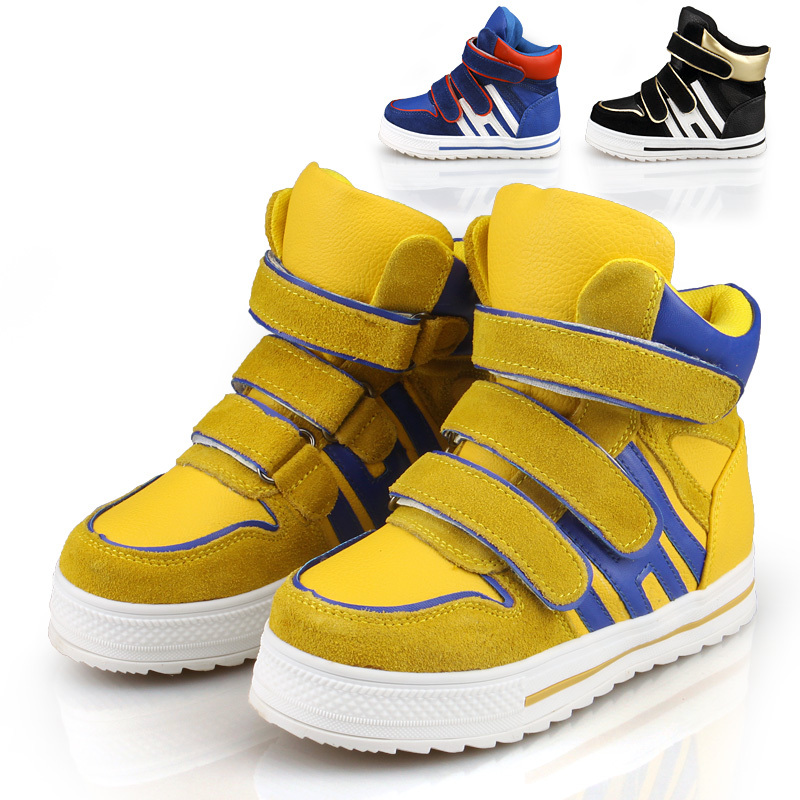 boy fashion neon shoes 2013 child baby toddler shoes sport