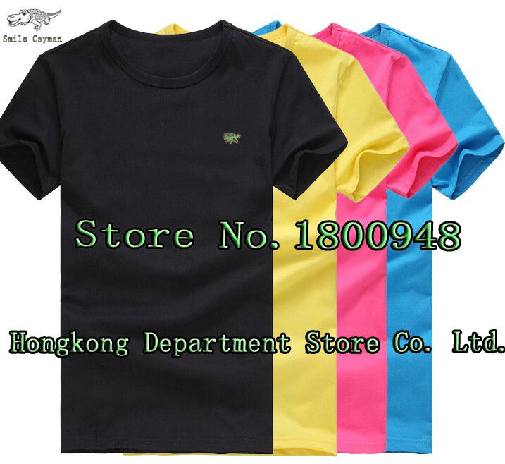 2015 Summer elasticity shirt brand logo mens solid polo camisa masculina for men fashion man designer casual blusas tops tees(China (Mainland))