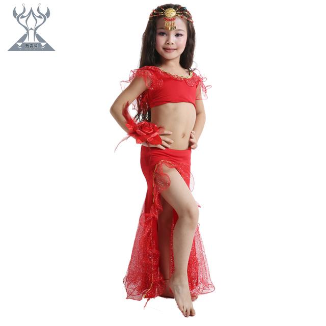 Red dress toddler girl training