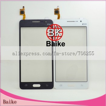 Crazy promoiton :For Samsung Grand Prime G531 G531F glass digitizer touch screen panel Blue / white/gold Free shipping