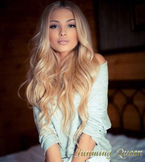 White Girl Lace Front Wigs 18