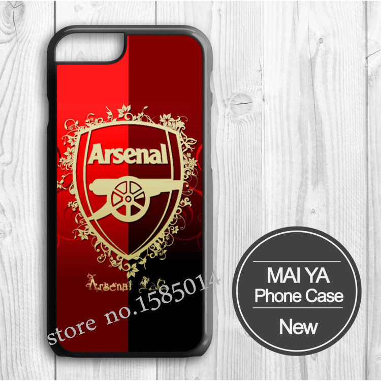 New design Arsenal embossed Picture Printed case for iPhone 6 6 Plus 5 5s 5c 4 4s cell phone case with one gift(China (Mainland))